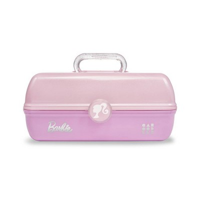 Caboodles Barbie On The Go Girl Cosmetic Bag - Pink and Pink Glitter