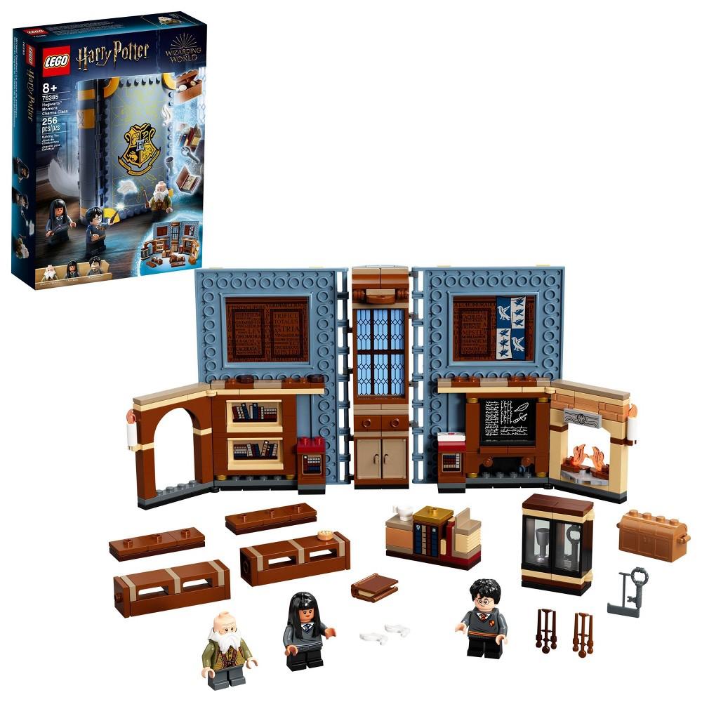 Lego Harry Potter Hogwarts Moment Charms Class Brick Built Book Playset 76385