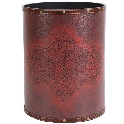 Faux Leather Storage Bins Boxes, Faux Leather Storage Bin Target
