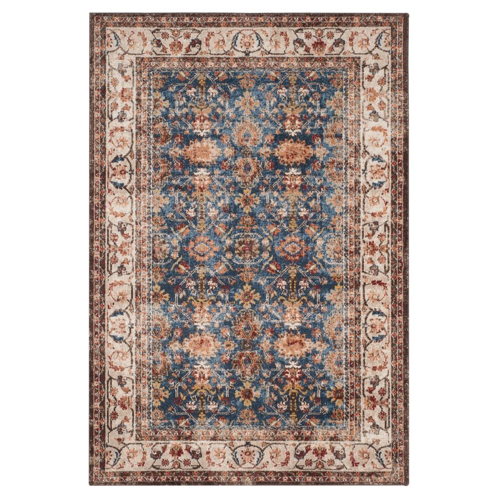 Bijar Rug - Royal/Ivory - (9'X12') - Safavieh, Blue
