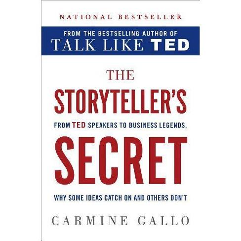 The Storyteller's Secret - by  Carmine Gallo (Hardcover) - image 1 of 1