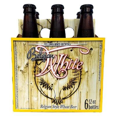 Yellowhammer Belgian White Beer - 6pk/12 fl oz Bottles