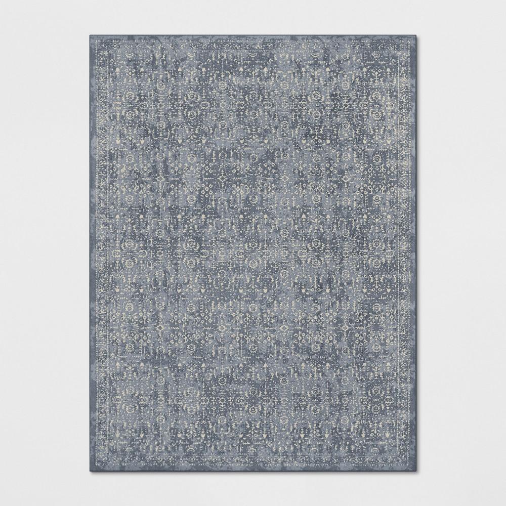 9'X12' Splatter Tufted Area Rugs Light Blue - Threshold