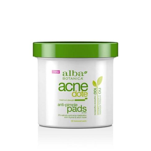 Alba Botanica Acnedote Anti-Pimple Pads - 60ct - image 1 of 3