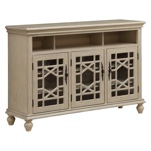 Christopher Knight Home Millstone Media Credenza Ivory - image 1 of 4
