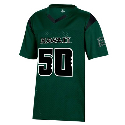 NCAA Hawaii Rainbow Warriors Boys' Short Sleeve Jersey