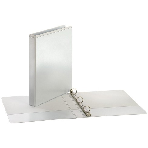 Cardinal Performer ClearVue Fiber Cover Board Round Ring Binder, 1 in, White - image 1 of 1