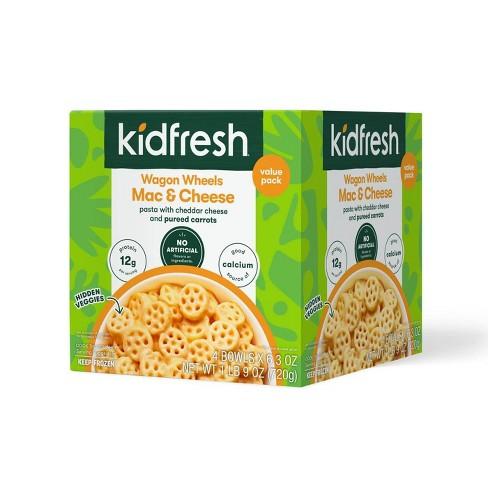 Kidfresh Vegetarian Frozen Frozen Mac & Cheese Value Pack - 25.2oz/4ct - image 1 of 3