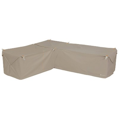 Storigami Easy Fold Left-Facing Sectional Cover Tan - Classic Accessories