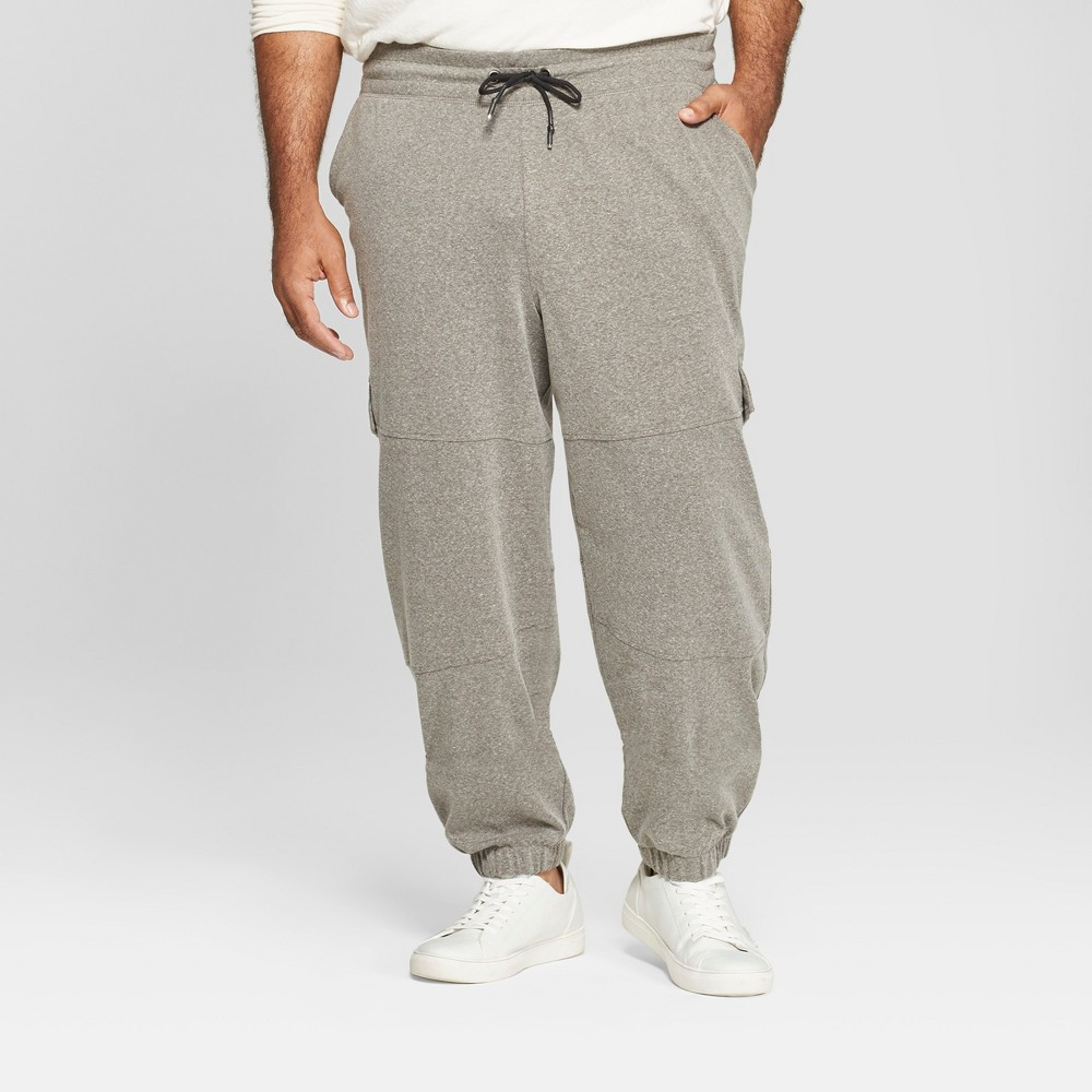 Men's Big & Tall Tapered Knit Jogger Pants - Goodfellow & Co Forest Ranger Green 4XB