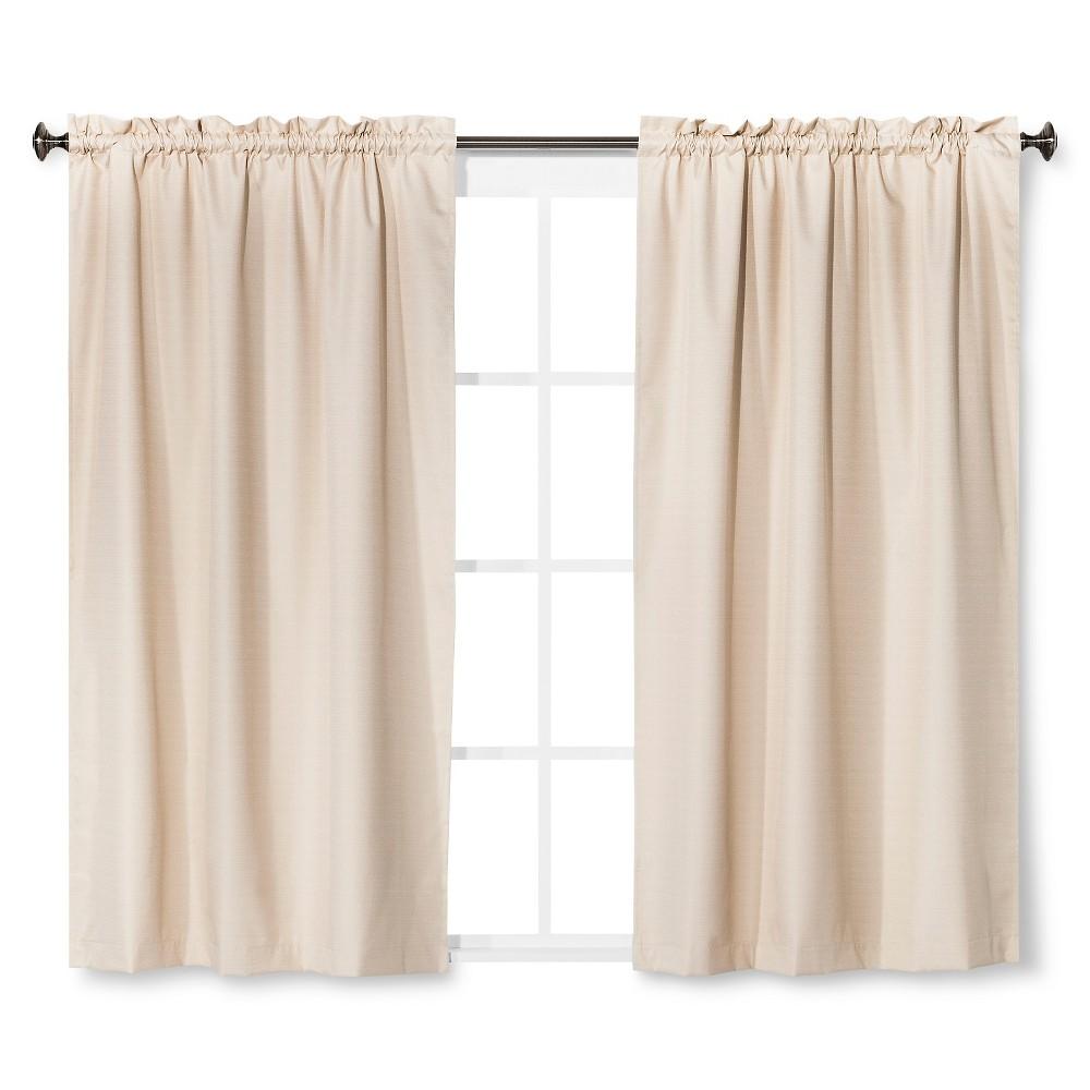 84 34 X42 34 Braxton Thermaback Blackout Window Curtain Panel Khaki Eclipse