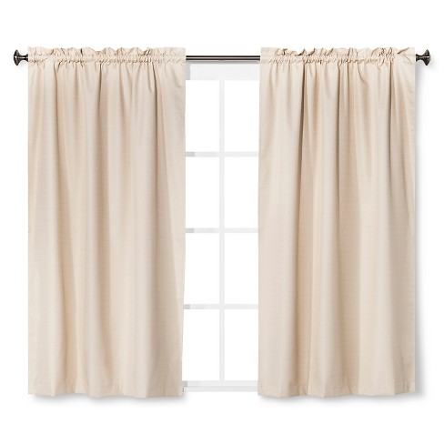 Braxton Thermaback Light Blocking Curtain Panel Khaki 42