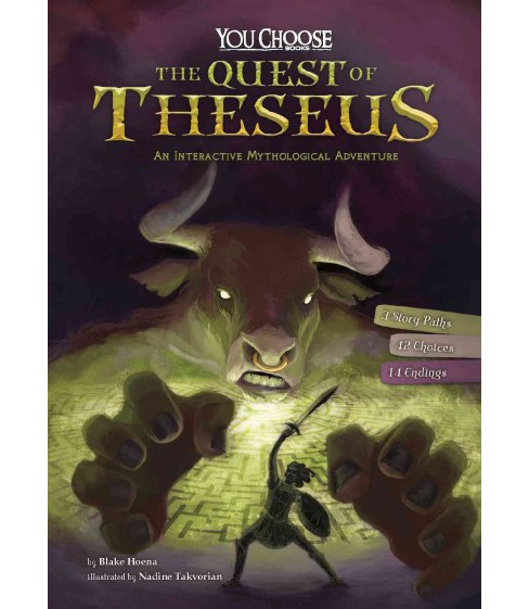 Quest of Theseus : An Interactive Mythological Adventure (Paperback) (Blake Hoena) - image 1 of 1