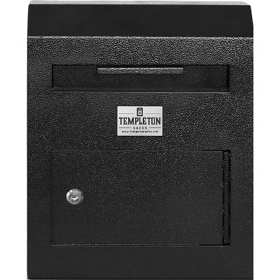 Templeton Safes Wall Mounted Depository Mailbox Drop Safe and Suggestion Box, Keyed Lock