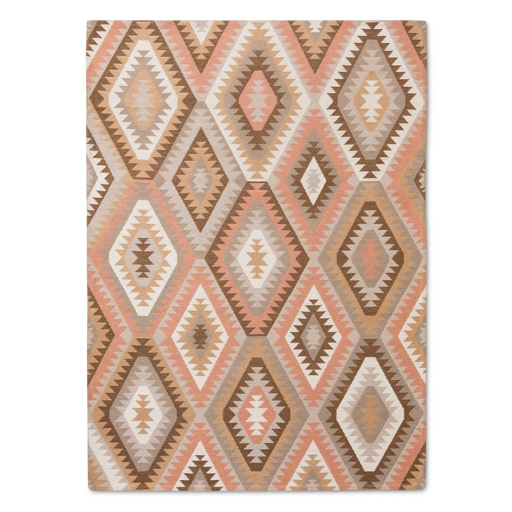 Brown Classic Woven Area Rug - (5'X7') - Threshold