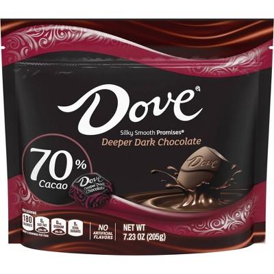Dove Promises Extra Dark Chocolate 70% Cacao Sharing SUP - 7.23oz