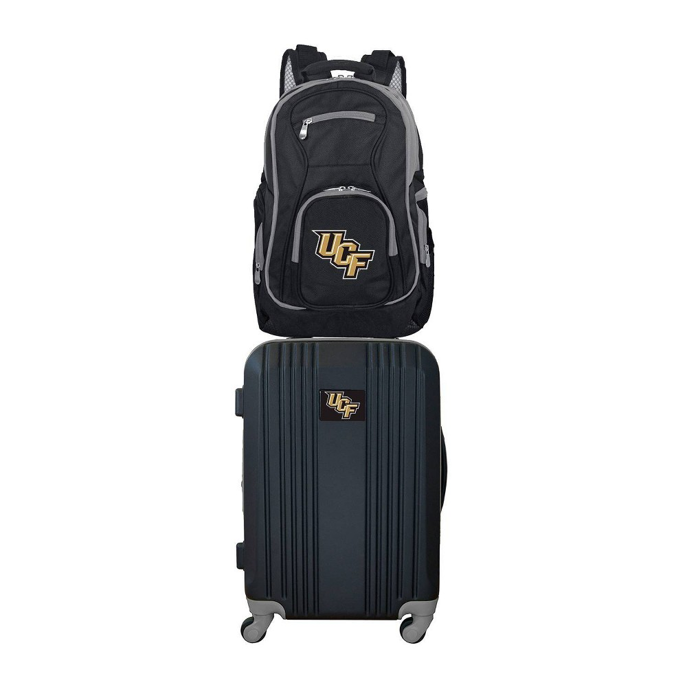 NCAA Ucf Knights Premium 2pc Backpack & Carry-On Luggage Set