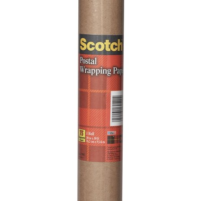 'Kraft Postal Wrapping/Packaging Paper 30''x30' Scotch, Brown'