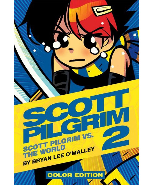Scott Pilgrim 2 : Scott Pilgrim Vs the World -  by Bryan Lee O'Malley (Hardcover) - image 1 of 1