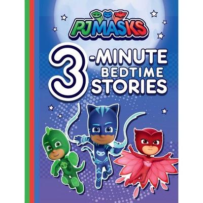 PJ Masks 3 Minute Bedtime Stories (Board Book)