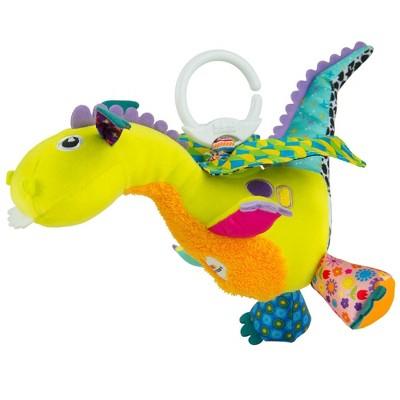Lamaze Flip Flap Dragon Clip & Go Baby Toy