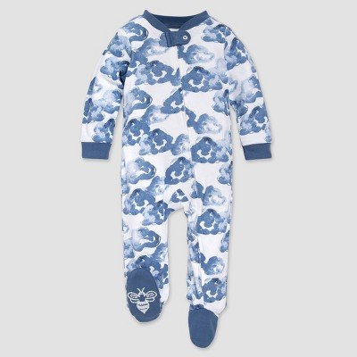 Burt's Bees Baby® Baby Boys' Moonlight Cloud Organic Cotton Sleep N' Play - Blue 0-3M