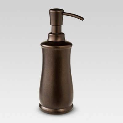 Traditional Brushed Soap Pump Bronze - Threshold™