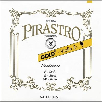 Pirastro Wondertone Gold Label Series Violin A String 4/4 Size
