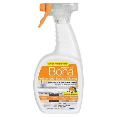Bona PowerPlus Antibacterial Surface Cleaner - Orange Blossom - 22 fl oz