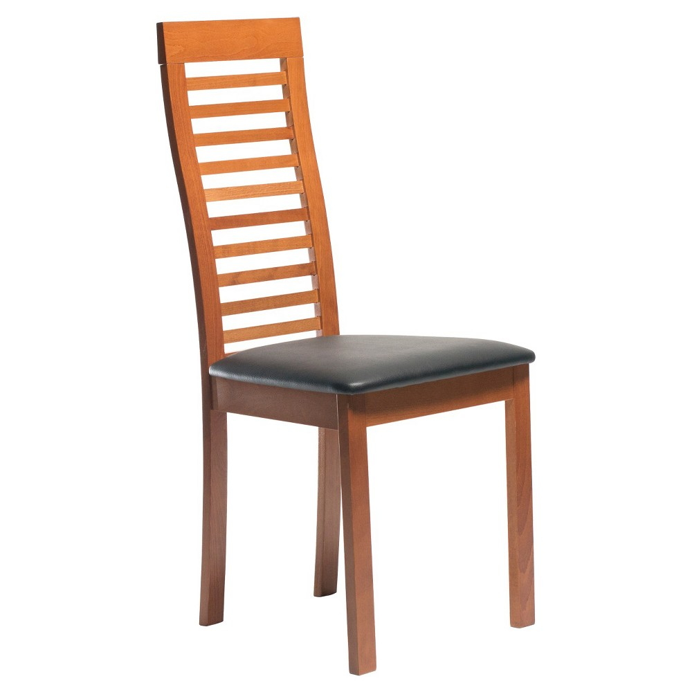 Aeon Denver Solid Beechwood Dining Chair - Cherry (Red) (Set of 2)