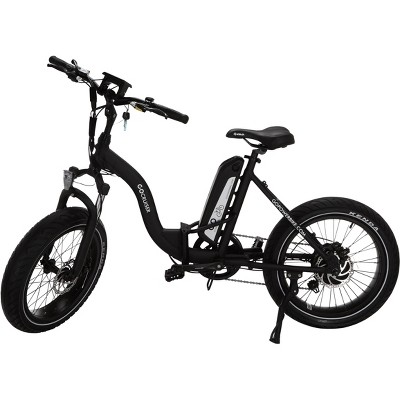 "Go Power Bike 20"" Go Cruiser Electric Folding Cruiser Bike - Black"