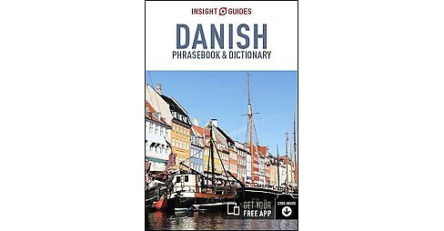 Insight Guides Danish Phrasebook & Dictionary (Paperback) - image 1 of 1