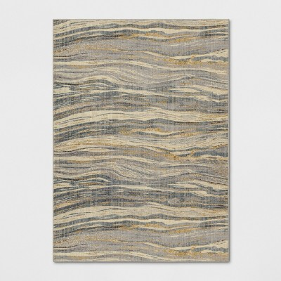 7'X10' Woven Marble Waves Area Rug - Project 62™
