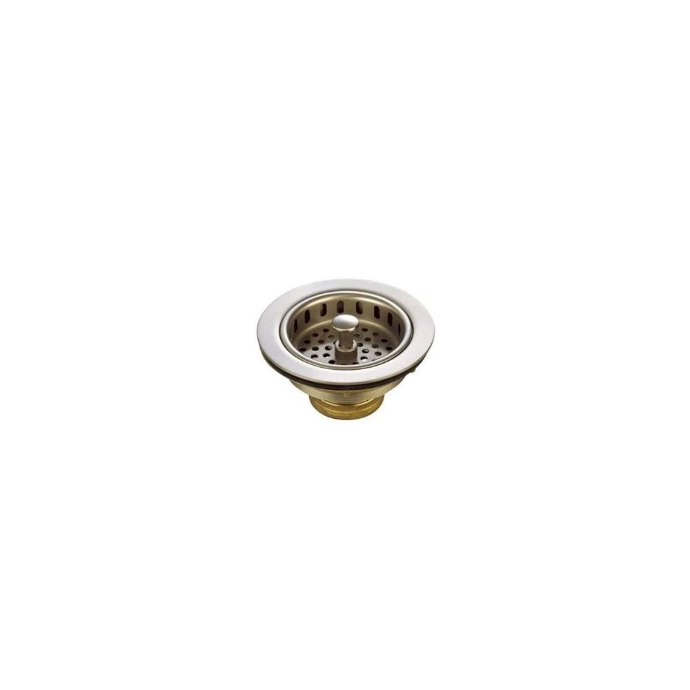 Heavy 45 Duty Kitchen Strainer 45 Satin Nickel