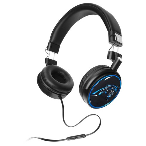 bc3a645a53f NFL Mizco 4D Steel Cut Logo Stereo Wired Headphones With Microphone : Target