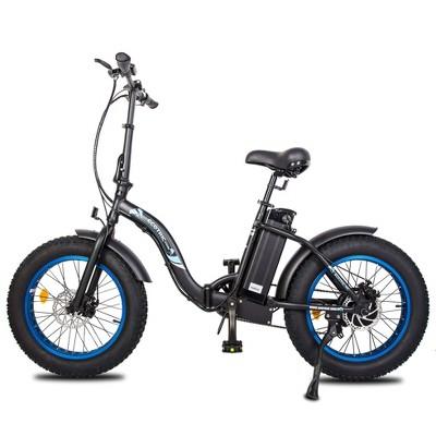 "Ecotric Doplhin 20"" Electric Road Bike - Matte Black"