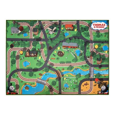 "Thomas the Train 40""x54"" Game Rug"