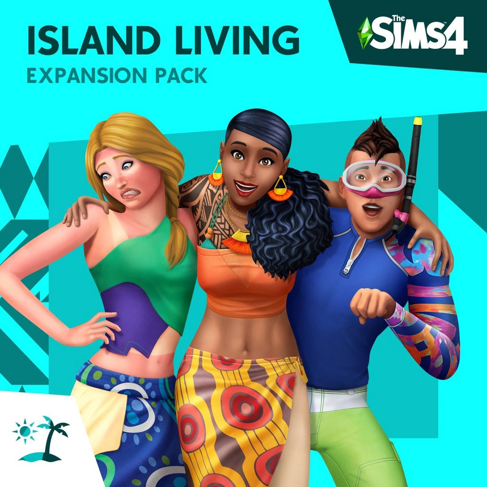 The Sims 4 Island Living Expansion Pack Playstation 4 Digital