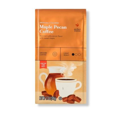 Maple Pecan Flavored Light Roast Ground Coffee - 12oz - Archer Farms™ - image 1 of 1
