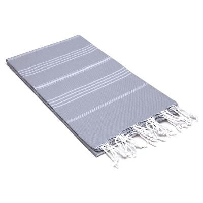 Lucky Pestemal Beach Towel Gray