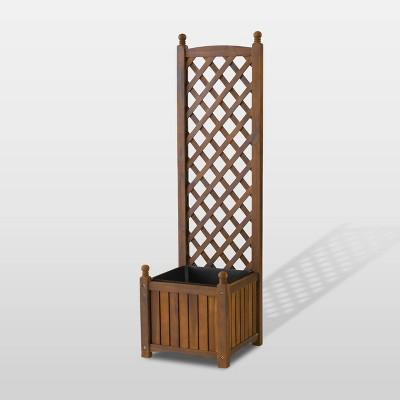 Wooden Trellis Lexington Planter - DMC Products