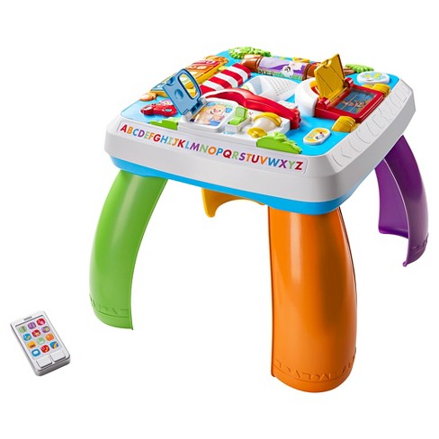 Fisher-Price Laugh and Learn Around the Town Learning Table - image 1 of 4