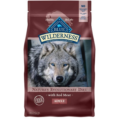 Blue Buffalo Wilderness Grain Free with Red Meat Adult Dry Dog Food