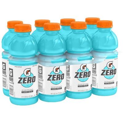 Gatorade G Zero Glacier Freeze Sports Drink - 8pk/20 fl oz Bottle