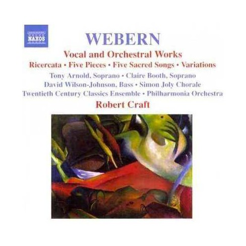 Twentieth Century Classics Ensemble - Webern: Vocal and Orchestral Works (CD) - image 1 of 1