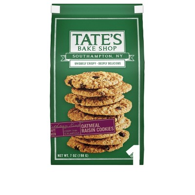 Tate's Bake Shop Oatmeal Raisin Cookies - 7oz