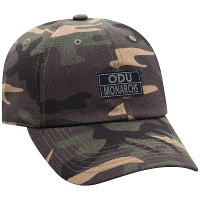 NCAA Old Dominion Monarchs Men's Camo Washed Relaxed Fit Hat
