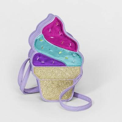 Girls' Ice Cream Shape Crossbody Bag   Cat & Jack by Cat & Jack