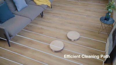 Ecovacs Deebot 665 Multi-Surface Wi-Fi And App Controlled Robot Vacuum And Mop - White : Target
