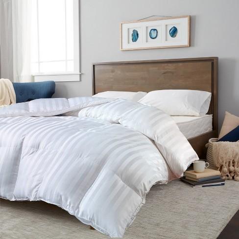 100% Cotton Duraloft Down Alternative Comforter (Full/Queen) White - Blue Ridge Home Fashions - image 1 of 3
